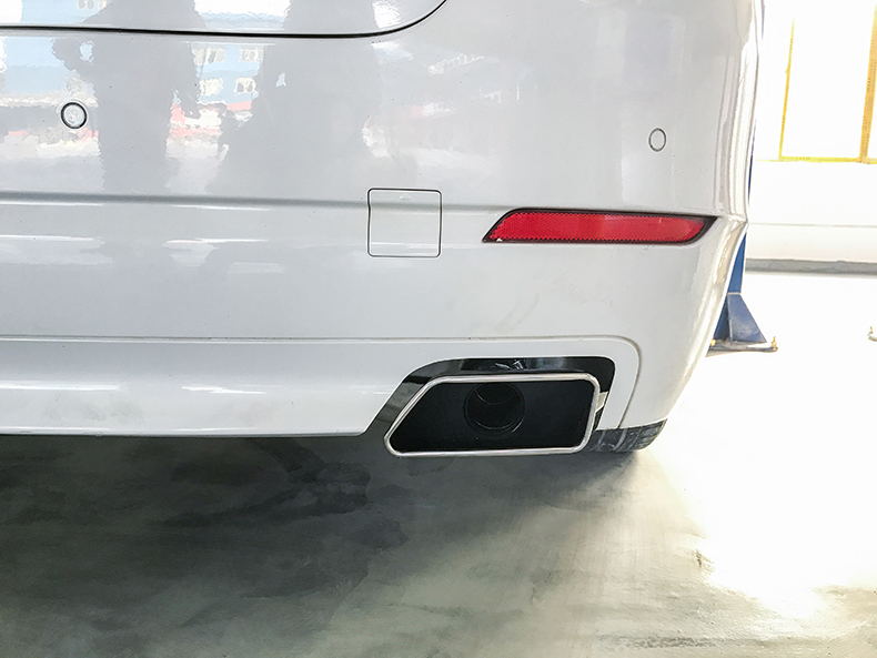 宝马5系排气改装,宝马5系改装535款方口排气管