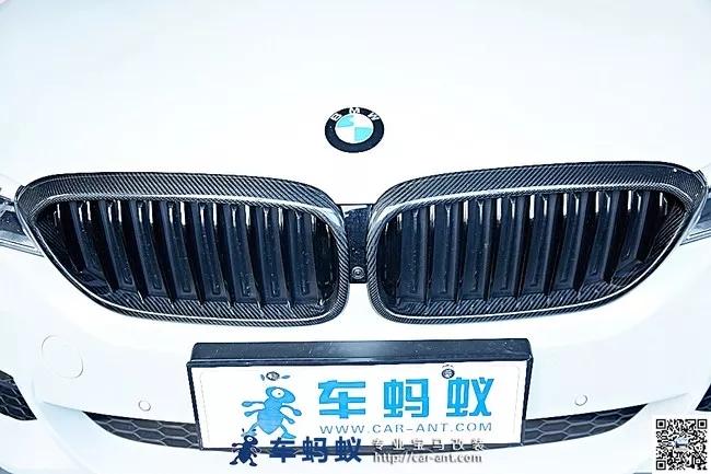 18款宝马5系530m运动型改装升级m performance款碳纤维中网