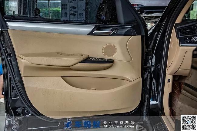 16款宝马x3改装升级m运动型真皮座椅内饰风格-车蚂蚁汽车改装俱乐部